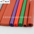 硅胶发泡管 发泡硅胶管生产厂家