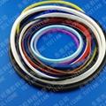 发泡硅胶条密封圈生产厂家 1