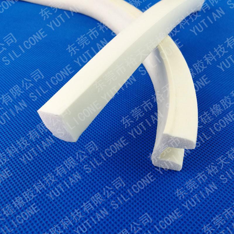 发泡硅胶条密封圈生产厂家 3