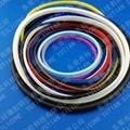 发泡硅胶条密封圈生产厂家 5