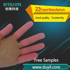 Ordinary Pink Latex finger cots