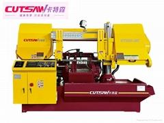 卡特森卧式半自动带锯床KT400-NC