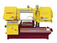 模具钢专用卧式半自动数控带锯床KT7040-P