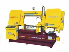 卡特森卧式半自动数控带锯床KT8050-S