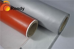 Silicone Coated Fiberglass Fabric Cloth