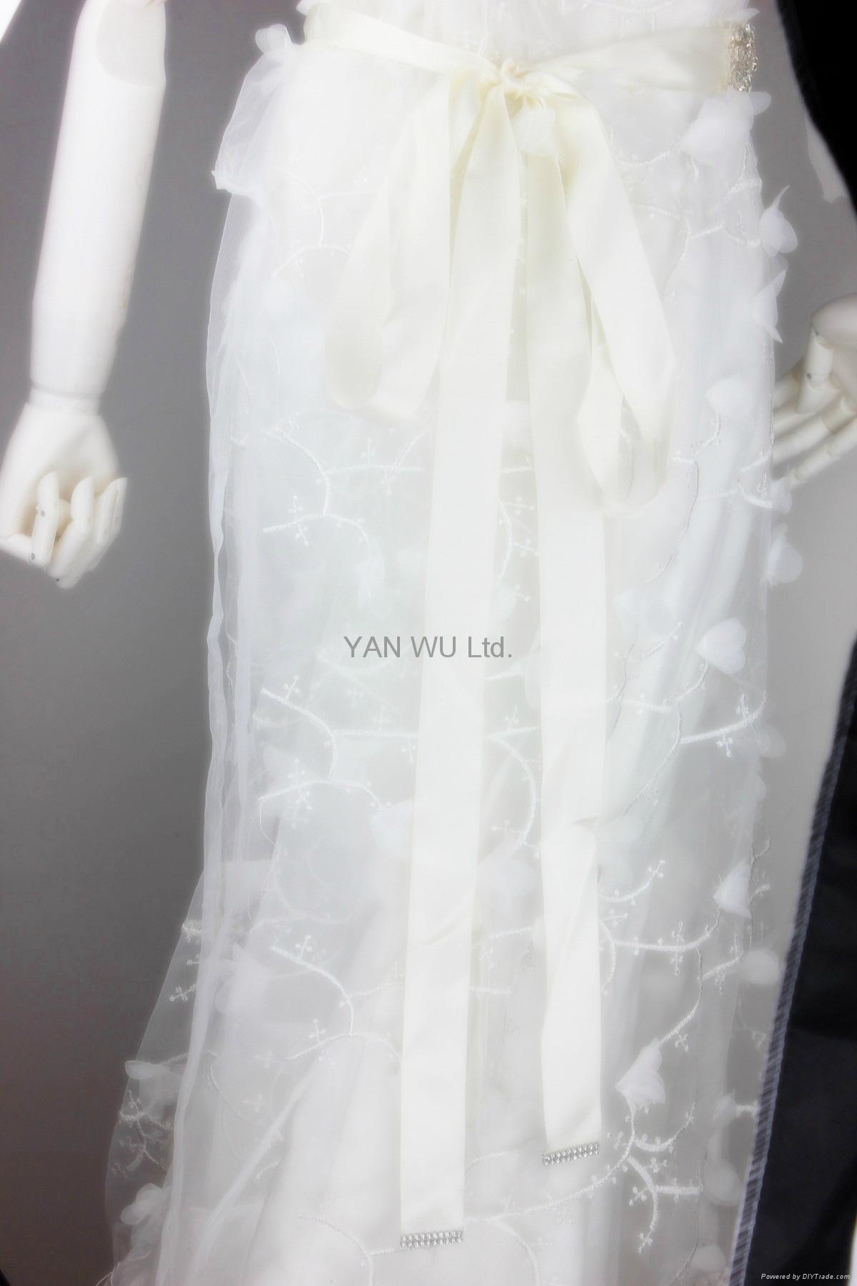 新娘腰帶婚紗配飾婚禮鑽石首飾 4