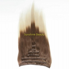 Clip in hair extension wholesale manufacture