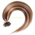 U  tip keratin hair prebonded hair remy hair 1