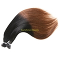 U  tip keratin hair prebonded hair remy hair 2