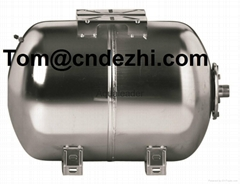 Stainless Steel Expansion Tanks With Replaceable Butyl Bladder Rubber Membrane