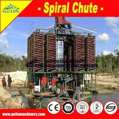 Mineral Washing Machine Sprial Separator Chute