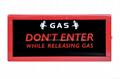 Gas Releasing Indicator