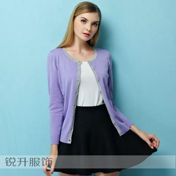 東莞工廠外貿毛衣加工簡約針織衫 2