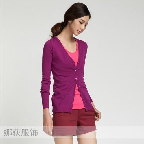 東莞工廠外貿毛衣加工簡約針織衫 1