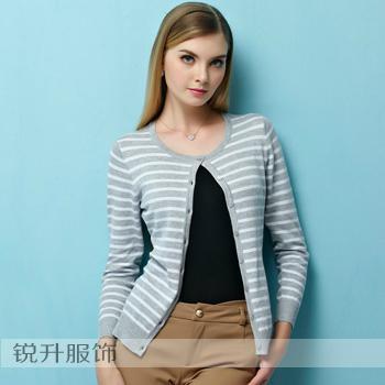 東莞工廠外貿毛衣加工簡約針織衫 4