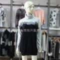 亮片設計高領套頭外貿毛衣加工 2