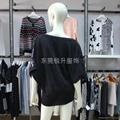 時尚款女式透明性感亮片毛衫加工 2
