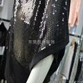 時尚款女式透明性感亮片毛衫加工 5