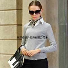 Cashmere sweater custom processing