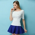 Summer Short Sleeve Knit Sweater OEM