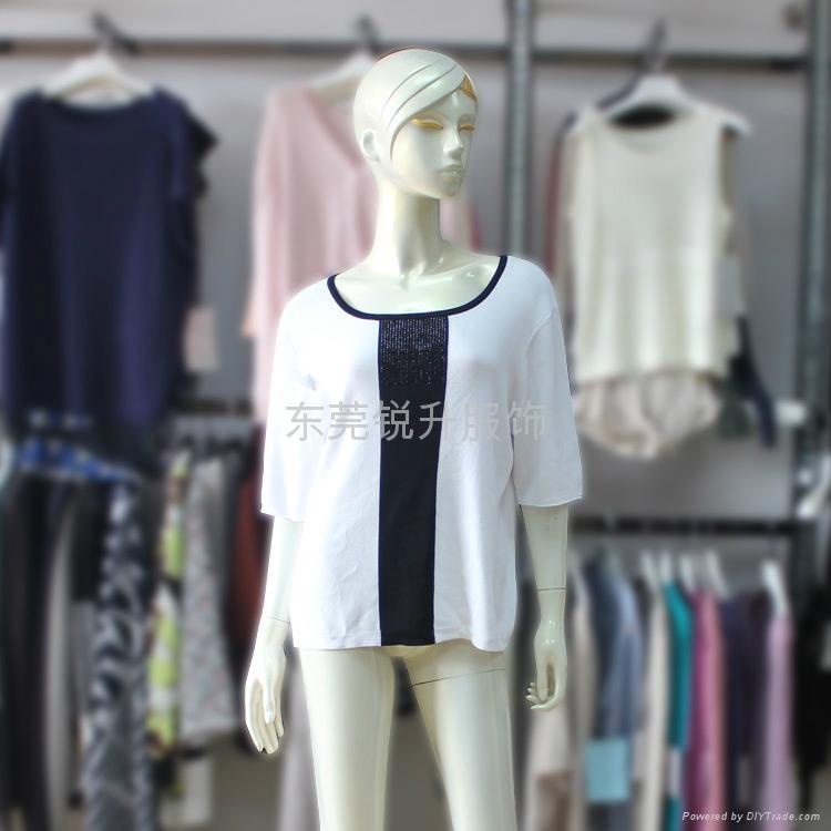 夏款短袖毛衣針織衫貼牌加工 4