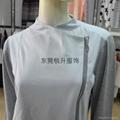 外貿毛衣加工廠生產女式拼接拉鍊毛衣 2