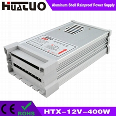 12V-400W constant voltage aluminum shell rainproof LED power supply