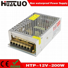 12V-200W constant voltage non waterproof LED power supply