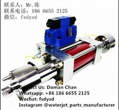 waterjet intensifier pump waterjet cutting machine price