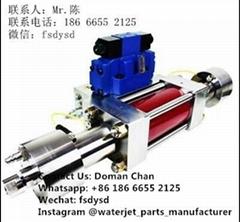 waterjet intensifier pump waterjet cutting machine price