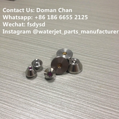 waterjet spare parts orifice for Waterjet cutting machine