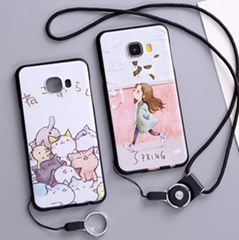 Cute pattern Phone Case for Samsung Galaxy C5/C5 Pro