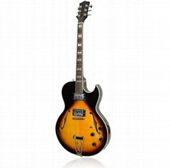 hot sale and cheap musical handmade electric guitar