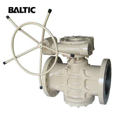 ASTM A216 WCB Pressure Balanced Lubricated Plug Va  e 1