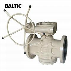 ASTM A216 WCB Pressure Balanced Lubricated Plug Va  e