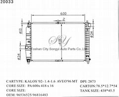 Auto Parts Car Radiator