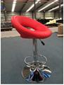 Home design rubber ring bar stool high