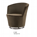 Home design rubber ring bar stool high end office furniture 2
