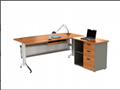 Middle end cheap metal office desk 3