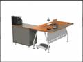 Middle end cheap metal office desk 4