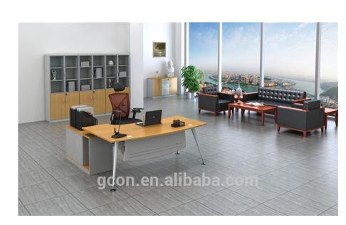 Middle end cheap metal office desk 5