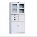 MFC adjustable steel bookcase steel