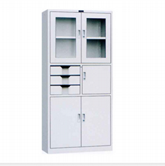 MFC adjustable steel bookcase steel bookcas