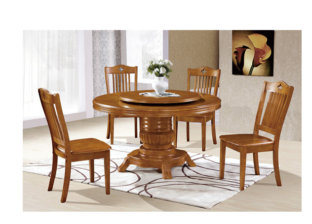 Professional wooden kid table & chair,high back wooden dining chair 1