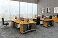 現代竹木辦公工作位 2