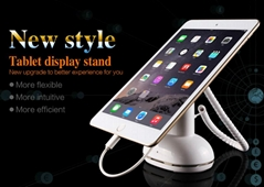 Anti-theft display stand for cell phone and tablets