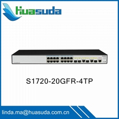 Huawei cheap ethernet switches promotion S1700 series S1724G 24GR 52R-2T2P-AC