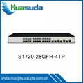 Huawei cheap ethernet switches promotion S1700 series S1724G 24GR 52R-2T2P-AC 2