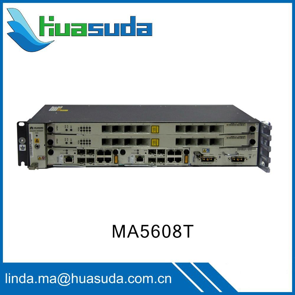Huawei MA5608T GPON OLT EPON DSLAM ADSL VDSL ONT ONU optical access