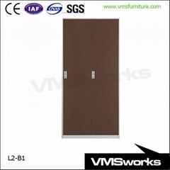 Office Euipment 2 Door Wardrobe Coat Lockers Cabinet